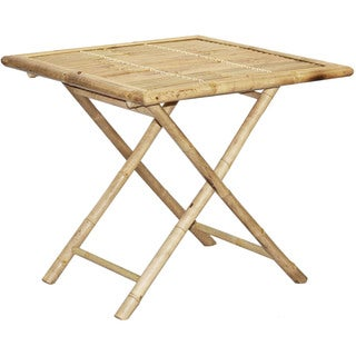 Bamboo Square Folding Table (Vietnam)