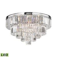 Elk Palatial 6-light LED Chandelier in Polished Chrome