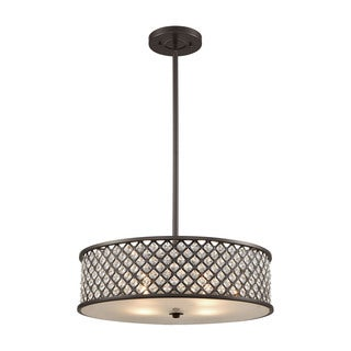 Elk Genevieve 6-light LED Chandelier in Oil Rubbed Bronze