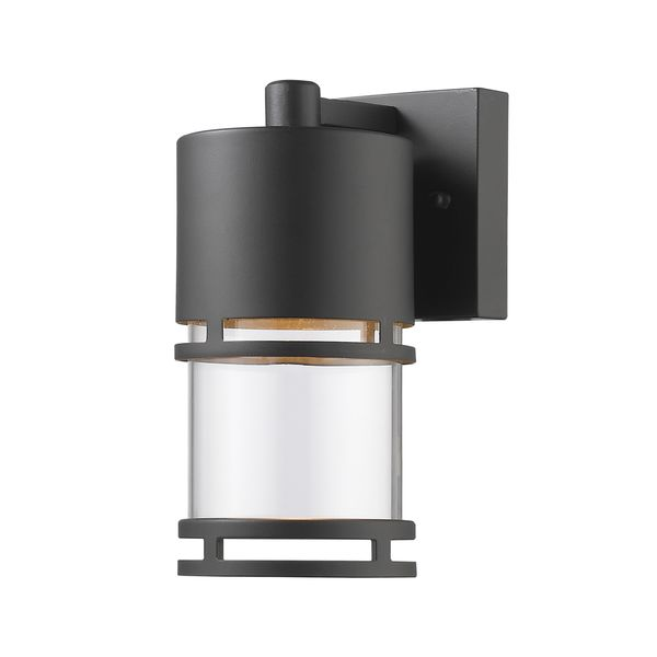 Z Lite Luminata Outdoor LED Wall Light In Oil Rubbed