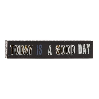 Quoted Wood Led Wall Sign 20-inch x 4-inch
