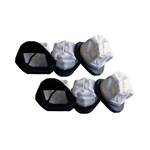 6pk Replacement Dust Cup Filters, Fits Shark SV736, SV748, SV738 & SV780, Compatible with Part XSB726N & XF769