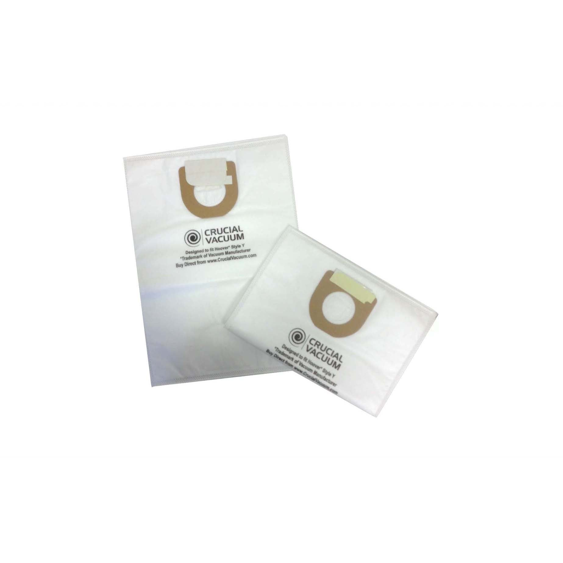 Crucial 36 Hoover Type Y Cloth Bags Part # 4010100Y 40108...