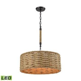 Elk Weaverton 3-light LED Chandelier in Oil Rubbed Bronze