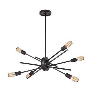 Elk Xenia 6-light  LED Chandelier in Oil Rubbed Bronze