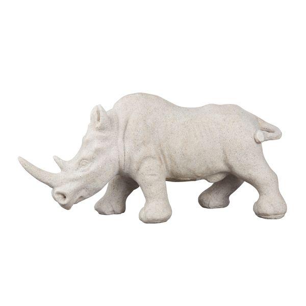 Aurelle Home Rhino Sculpture