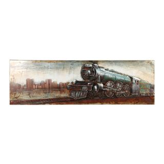 Aurelle Home Old Train Wall Decor