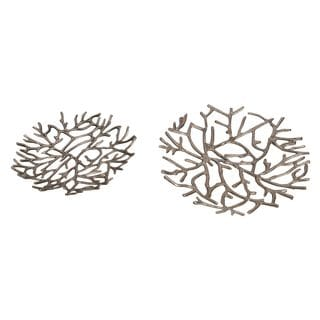 Aurelle Home Sims Platter (Set of 2)