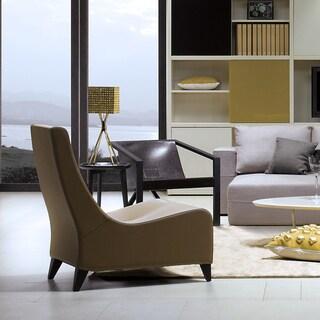 Dora Leather Lounge Chair