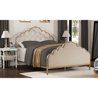 The Curated Nomad Flatiron Moroccan Quatrefoil Queen Bed