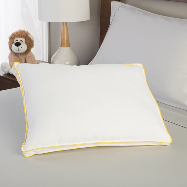 PureCare Rise & Shine Adjustable Youth Memory Foam and Latex Pillow - Cream