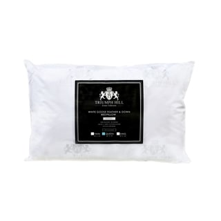 Triumph Hill Feather and Down Bed Pillow