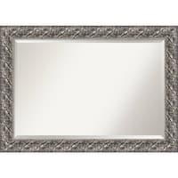 Wall Mirror Extra Large, Silver Luxor 42 x 30-inch - extra large - 42 x 30-inch