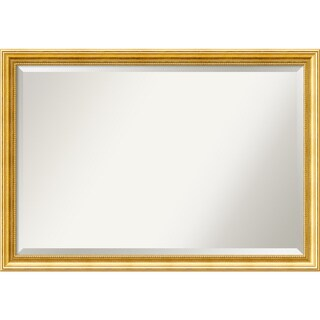 Wall Mirror Extra Large, Townhouse Gold 40 x 28-inch - extra large - 40 x 28-inch
