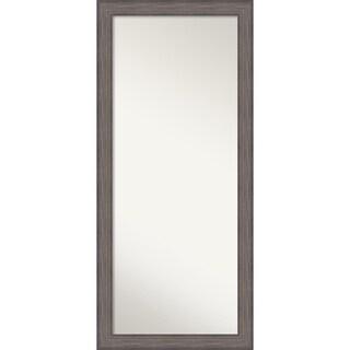 Country Barnwood Floor Wall Mirror' 29 x 65-inch