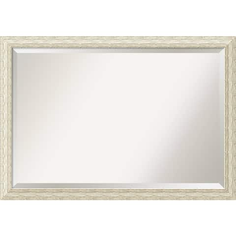 The Gray Barn Wilset Extra Large Country Whitewash Wall Mirror
