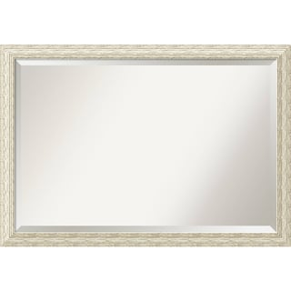 Wall Mirror Extra Large, Cape Cod White Wash 40 x 28-inch
