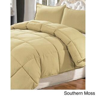 Serenta Microfiber Down Alternative 3-piece Comforter Set
