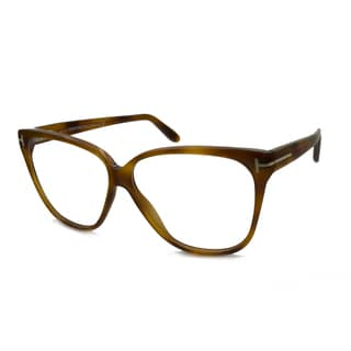 Tom Ford Women's TF5302 Square Reading Glasses