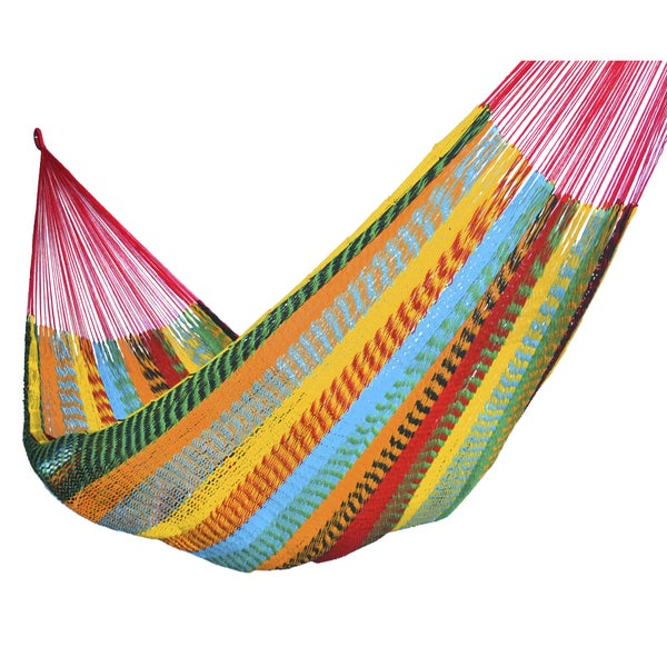 Shop Thick Cotton Hammock Overstock 24 Multicolored Free