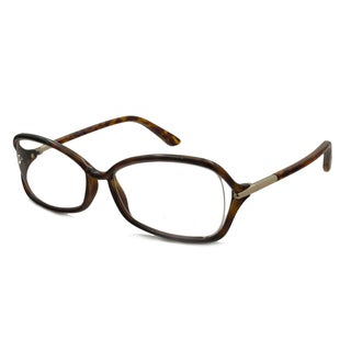 Tom Ford Women's TF5206 Rectangular Reading Glasses