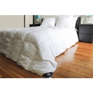 Triumph Hill White Jaquard Cotton Down Bed Comforter