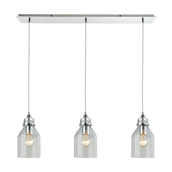Elk Lighting Modern Farmhouse: Shop Elk Pendant Options 3-light LED Linear Pendant In