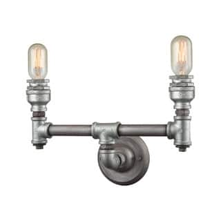 Elk Cast Iron Pipe 2-light Vanity in Weathered Zinc https://ak1.ostkcdn.com/images/products/11345389/P18319168.jpg?impolicy=medium
