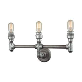 Elk Cast Iron Pipe 3-light Vanity in Weathered Zinc https://ak1.ostkcdn.com/images/products/11345391/P18319169.jpg?impolicy=medium