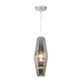 Elk Pelham 1-light LED Pendant in Polished Chrome