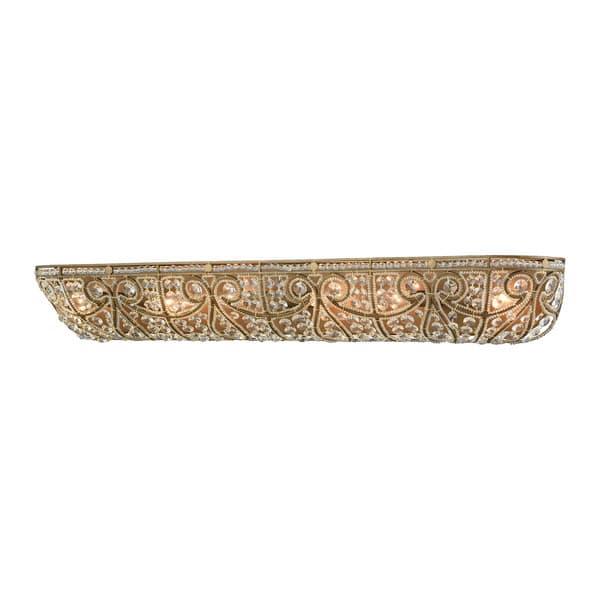 Elk Elizabethan 6 Light Vanity In Dark Bronze Overstock 11345465