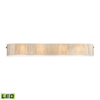 Elk Modern Organics 4-light LED Vanity in Polished Chrome