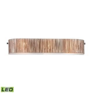 Elk Modern Organics 3-light LED Vanity in Polished Chrome