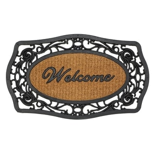 Lacy Designed Door Mat