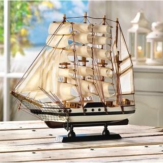 Unique Passat Wooden Boat Model