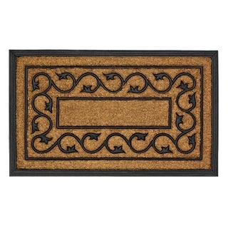 Swirling Vineyard Door Mat