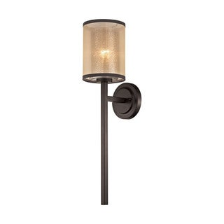 Elk Diffusion 1-light Wall Sconce in Oil Rubbed Bronze