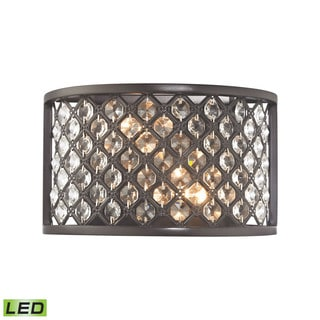 Elk Genevieve 2-light LED Wall Sconce in Oil Rubbed Bronze