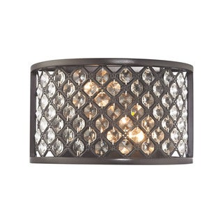 Elk Genevieve 2-light Wall Sconce in Oil Rubbed Bronze