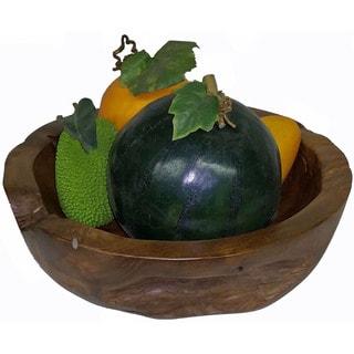 Teak Medium Bowl (Vietnam)