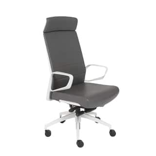Euro Style Grey White Gotan Pc Hb Office Chair