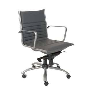 Euro Style Grey Dirk-PC LB Office Chair