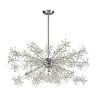 Elk Snowburst 20-light  LED Chandelier in Polished Chrome