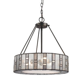 Elk Ethan 3-light LED Chandelier in Tiffany Bronze