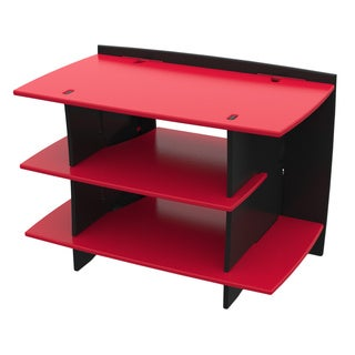Legare Kids Furniture Red Race Car Series Collection Gaming Center Stand