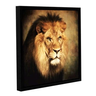 ArtWall Dragos Dumitrascu's The King II, Gallery Wrapped Floater-framed Canvas