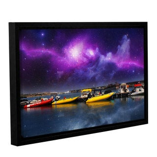 ArtWall Dragos Dumitrascu's Gateway, Gallery Wrapped Floater-framed Canvas