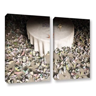 ArtWall Cynthia Decker's The Perfectionist, 2 Piece Gallery Wrapped Canvas Set