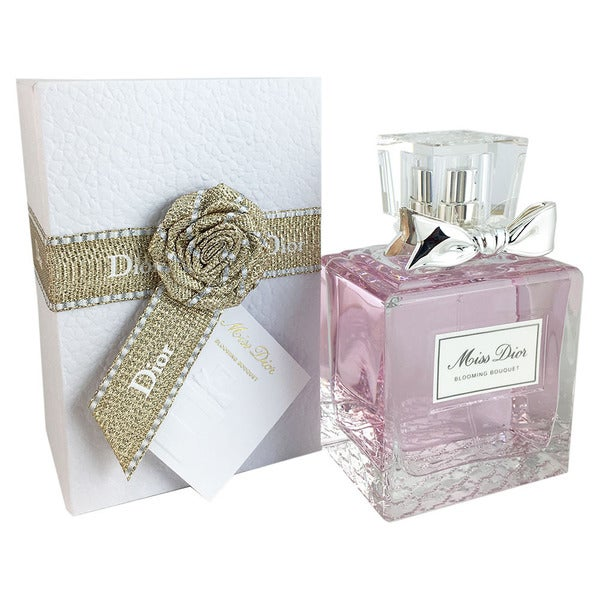 fa9963176a83 Shop Christian Dior Miss Dior Blooming Bouquet Women s 3.4-ounce Eau de  Toilette Spray (Couture Packaging) - Free Shipping Today - Overstock -  11346373