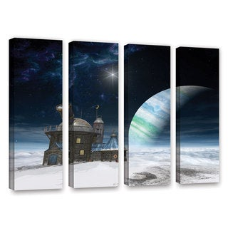 ArtWall Cynthia Decker's Observatory, 4 Piece Gallery Wrapped Canvas Set
